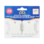 DMC Plastic Bobbins - 28pc