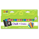 Krafty Kids Chalk - 48pc Assorted Colours