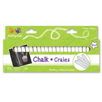 Krafty Kids Chalk - 48pc White