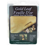 Gold Metal Leaf Sheets - 25pc