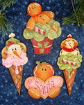 Renee Mullins Packet - Sweet Treat Ornaments
