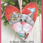 Renee Mullins Packet Kit - Kitty Love Tag