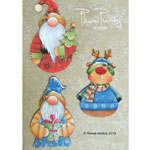 Renee Mullins Packet - Christmas Gnome Ornaments