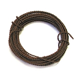 Rusty Twisted Wire - 20 Gauge - 15'