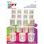 Storage Cup Set - 19 cups with Lids