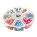 Plastic Craft Storage Wheel - 4