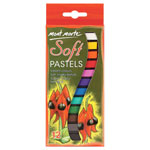 Mont Marte Soft Pastels - 12pc