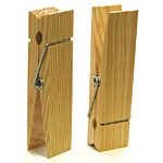 Wooden Clothespin - 6