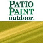 Patio Paint Glorious Gold Metallic - 2oz