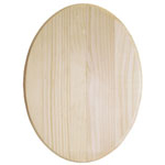 Pine Plaque Oval - 9