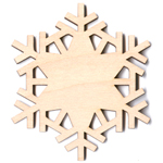 Winter Snowflake - Plain - 2