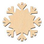 Octagon Snowflake Ornament - 5
