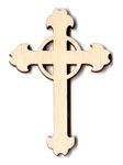 Ornate Cross with Ring - 3