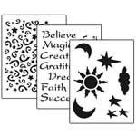 Stencil 3pc Value Pack - Imagine - 7