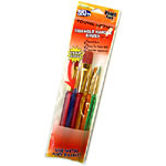 Brush Pack-Triangle Handle - 6pc