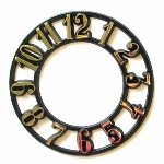 Clock Time Ring - Gold - 3 3/4