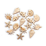 Laser-Cut Ocean Cutout Assortment - 50pc