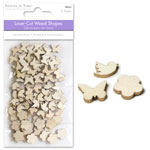 Wood Minis 3 Assorted Shapes - Garden Pals