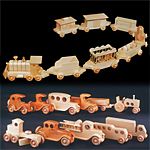 Plan-Wooden Vehicles (10