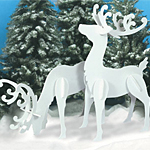 Plan-Large White Reindeer (55