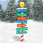Plan-North Pole Sign - 72