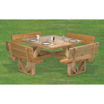 Plan-Square Picnic Table (50