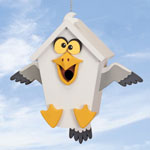Plan-Goofy Gull Birdhouse