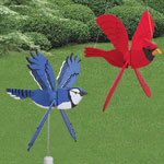 Plan-Whirling Wing Whirligigs Set (5 bird designs)