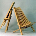 Plan-Folding Outdoor Chair