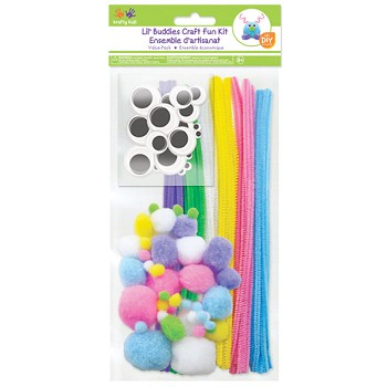 Krafty Kids Craft Pack - Pastel