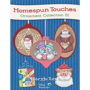 Homespun Touches Ornaments #3 by MaryJo Tuttle