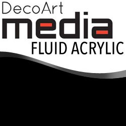 Media Fluid Acrylic Carbon Black - 1oz