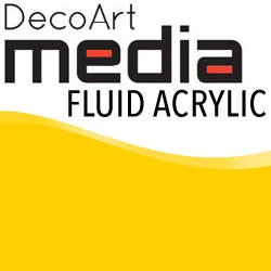 Media Fluid Acrylic Primary Yellow - 1oz