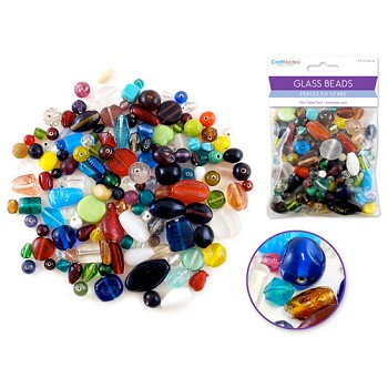 Glass Beads - Value Pack - 250gr