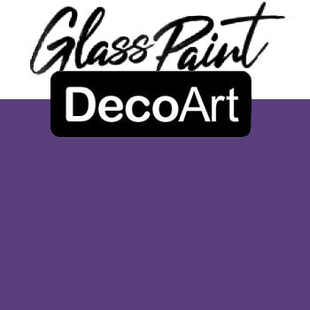 DecoArt Glass Paint - Purple 2oz