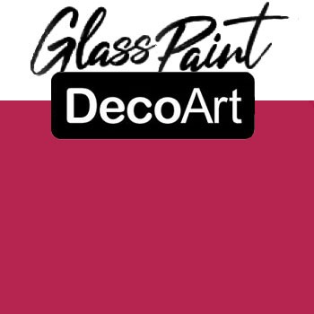 DecoArt Glass Paint - Fuchsia 2oz