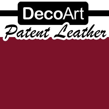 Patent Leather Garnet - 2oz