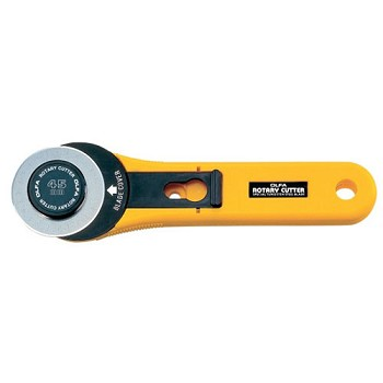 Olfa 45mm Rotary Cutter - Straight Handle