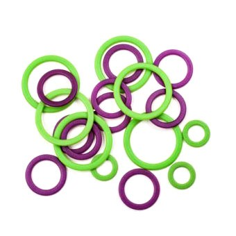 Stitch Ring Markers (3 sizes) - 50pc