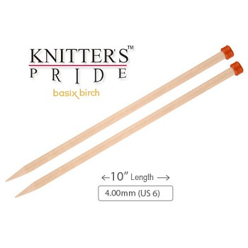 "KP Basix Birch SP 10"" - 4.00mm (US 6)"