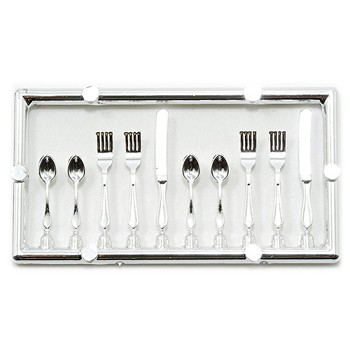 Miniature - Table Setting Silverware 20pc