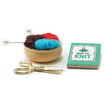 Miniature - Knitting Kit 3pc