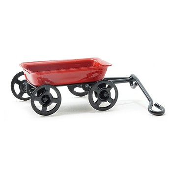 Miniature - Small Red Wagon