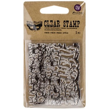 Clear Stamp - Crackle