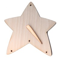 "Jingle Star Snowman (2pc) - 3 3/4"" wide (Retired Shapes)"