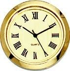 "Clock Fit-Up - 1 7/16"" - Gold/Roman"