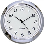 "Clock Fit-Up - 1 7/16"" - White/Arabic"