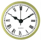 "Clock Fit-Up - 2 3/4"" - White/Roman"