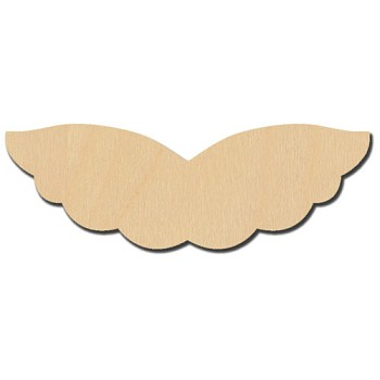 Angel Wing - 3 3/8""