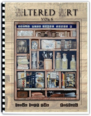 Altered Art #6 by Linda Lock